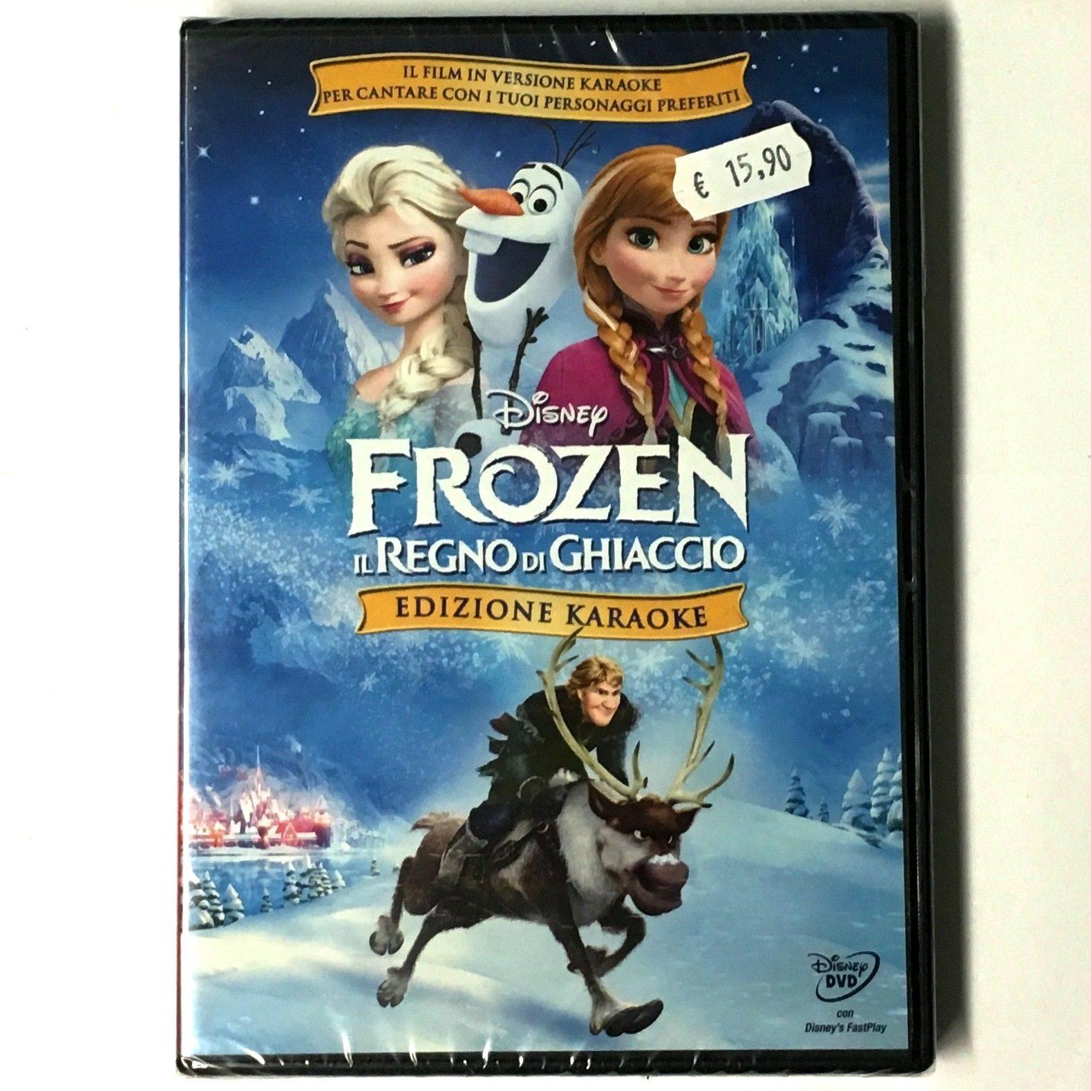 Frozen il regno di ghiaccio edizione karaoke