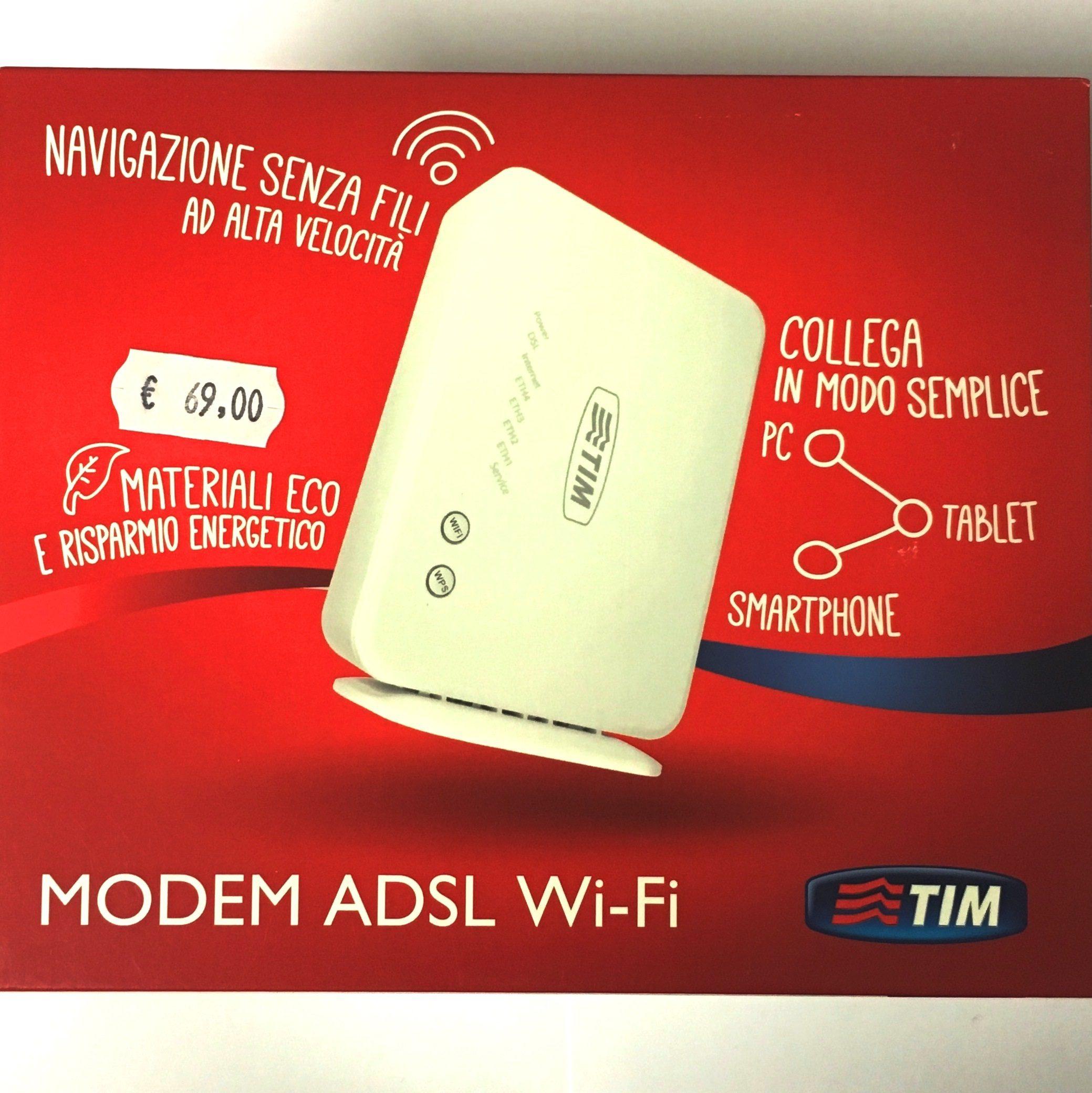 Modem ADSL WiFi TIM – Telecom Italia DA 2210