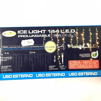 Ice Light 144 LED Bianco Classico
