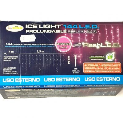 Ice Light 144 LED Porpora