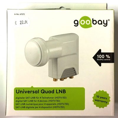 Quad LNB Goobay