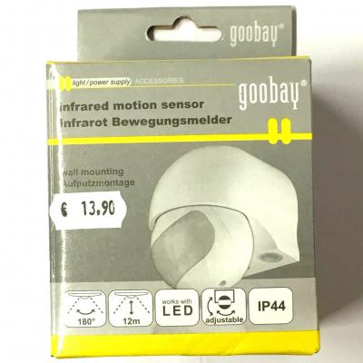 Goobay Sensore Infrarossi