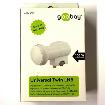 Twin LNB Goobay