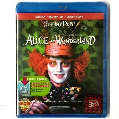 Alice In Wonderland - Blu Ray Disc 3D