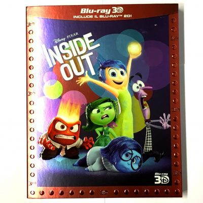 Inside Out - Blu Ray Disc 3D