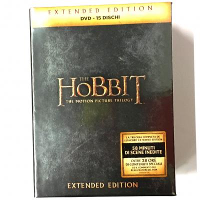 Lo Hobbit - Extended Edition 15 Dischi