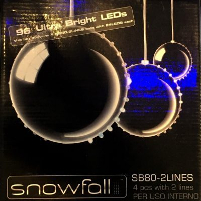 Sfere luminose Snowfall