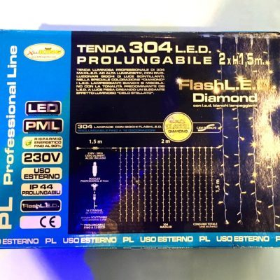 Tenda Luminosa 304 LED
