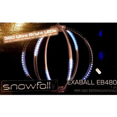 Sfera Luminosa Snowfall