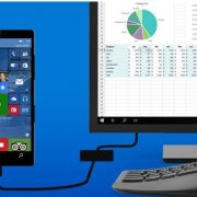 Windows 10 Mobile - Continuum