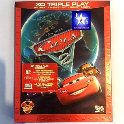 Cars 2 - Blu-ray 3D + Blu-ray