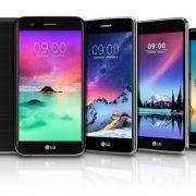 LG ha presentato la nuova Serie K (2017): smartphone con ottime prestazioni a prezzi da fascia media