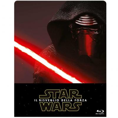 Star Wars - Il Risveglio della Forza - 2 Blu-Ray - Limited Edition Steelbook