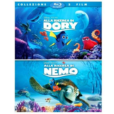 Alla Ricerca di Dory + Alla Ricerca di Nemo - 2 Blu-ray
