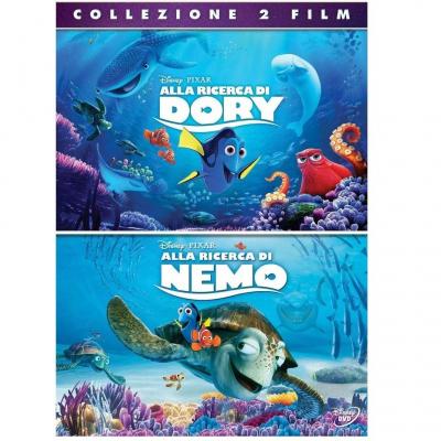 Alla Ricerca di Dory + Alla Ricerca di Nemo - 2 DVD