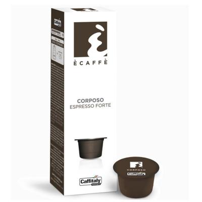 Caffitaly 25 Capsule Ècaffè gusto corposo
