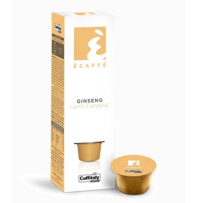 Caffitaly 10 Capsule Ècaffè - gusto Ginseng - Caffè e Ginseng