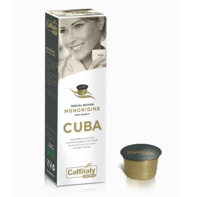 Caffitaly 10 Capsule Ècaffè - gusto Monorigine Cuba - Edizione Speciale