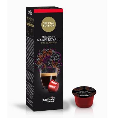 Caffitaly 10 Capsule Ècaffè - gusto Monorigine Kaapi Royale - Limited Edition