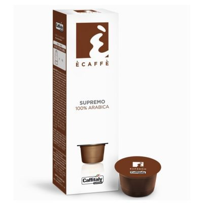 Caffitaly 50 Capsule Ècaffè - gusto supremo 100% arabica