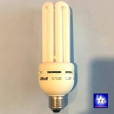 Reer 5454728 Lampadina Tubolare a Risparmio Energetico E27 30W Bianco Caldo