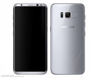 Press render del nuovo Samsung Galaxy S8