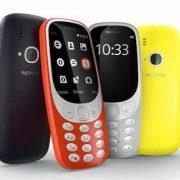 Il ritorno di Nokia: tre smartphone Android e il 3310 rivisitato