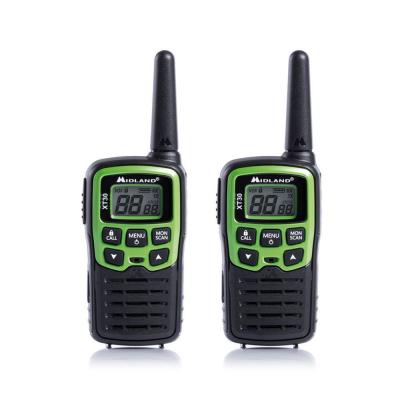 Ricetrasmittente Coppia Midland XT30 PMR C1177, 16 canali PMR446 (8 + 8 pre programmati), 38 toni CTCSS in TX e RX, silenziatore tono fine trasmissione