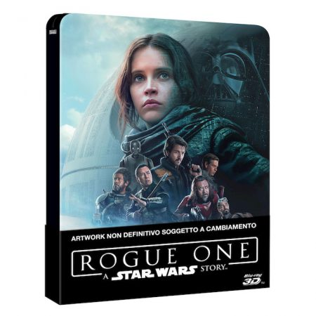 Rogue One: A Star Wars Story 3D Limited SteelBook – Blu-Ray
