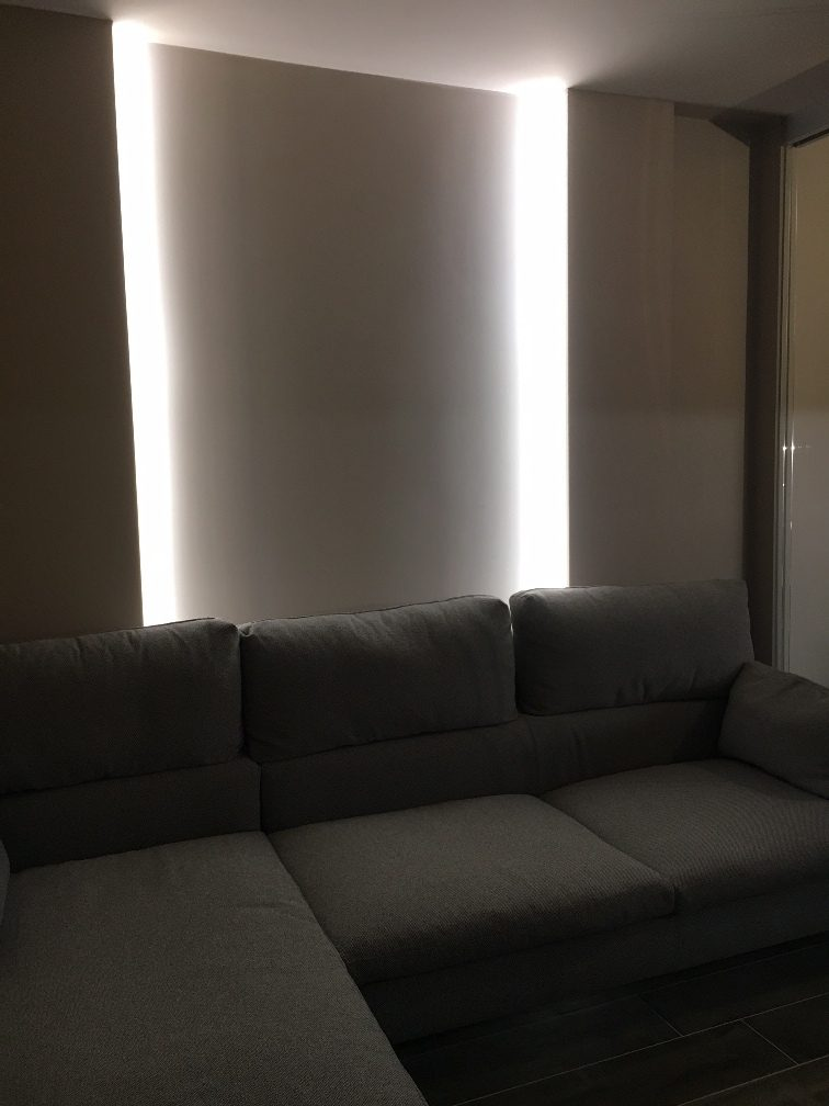 Esempi di illuminazione a led per interni for Led per interni