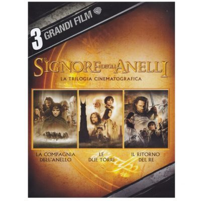 3 grandi film - Il Signore degli Anelli - La trilogia cinematografica - DVD