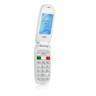 "Brondi AMICO Mio+ C Bianco - Telefono Senior 2,4"""