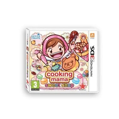 Cooking Mama - Sweet Shop - Nintendo 3DS