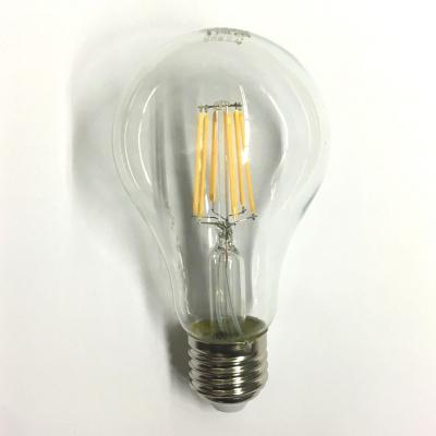 Lampadina LED 8W E27 a Filamento - Risparmio Energetico, Bianco Caldo
