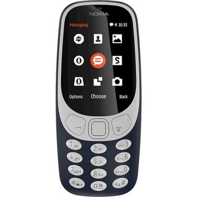 """Nokia 3310 B 2.4"""" Dark Blu Telefono cellulare di livello base"""