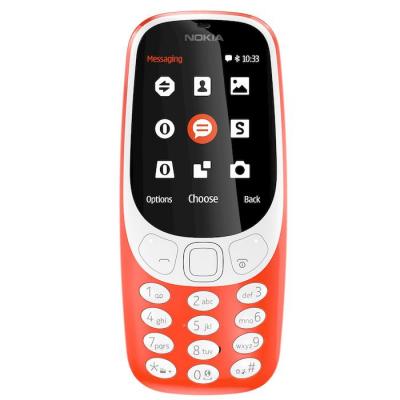 "Nokia 3310 R 2.4"" Rosso Warm Red Telefono cellulare"