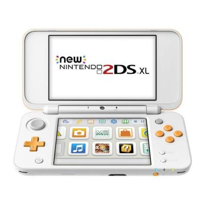 New Nintendo 2DS XL Bianco-Arancione
