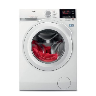 AEG L6FBG841 Libera installazione Carica frontale 8kg 1400Giri/min A+++ Bianco lavatrice