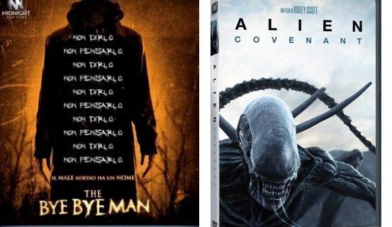 Alien: Covenant e The Bye Bye Man tra i titoli in home video dal 13 Settembre