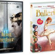 Ballerina, King Arthur e Famiglia All'Improvviso in arrivo dal 6 Settembre