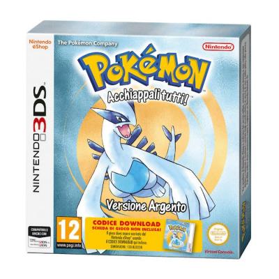 Pokemon Versione Argento - Nintendo 3DS