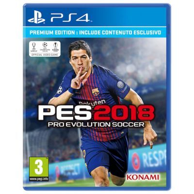 Pro Evolution Soccer 2018 Premium Edition - PlayStation 4