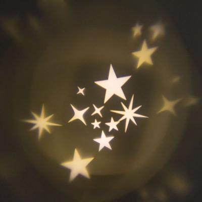 Proiettore Garden Stelle con LED di colore bianco caldo, 16 x h 28 cm, rotazione automatica