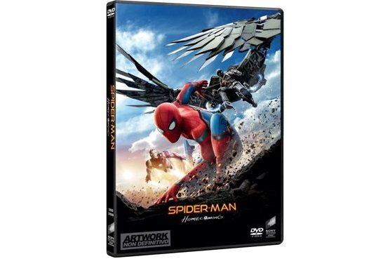 Spider-Man Homecoming in DVD e Blu-ray dal 15 Novembre