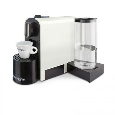 Macchina da caffè a capsule Espresso Due 327 Bianca