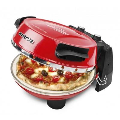G3 Ferrari Pizzeria Snack Napoletana G10032, Forno per Pizza nero e rosso, 1200W