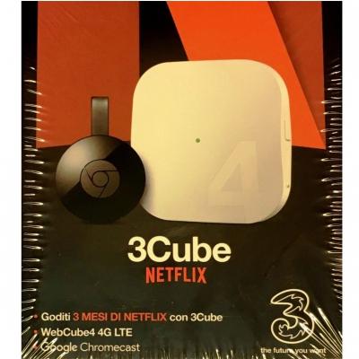H3G Modem WebCube 4 4G LTE con Google Chromecast