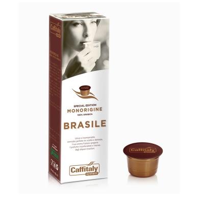 Caffitaly 10 Capsule Monorigine - Caffè Monorigine Brasile