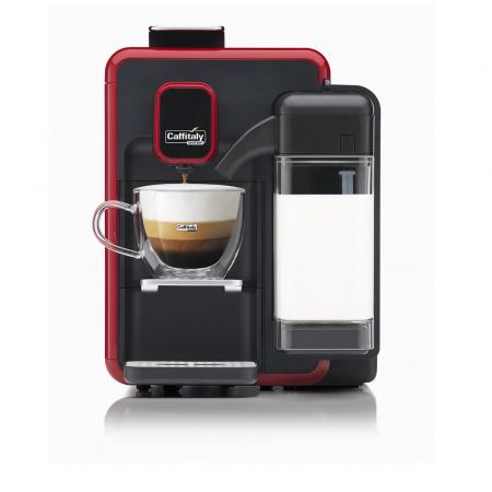 Macchina da Caffè Bianca S22 Rosso Nera Caffitaly