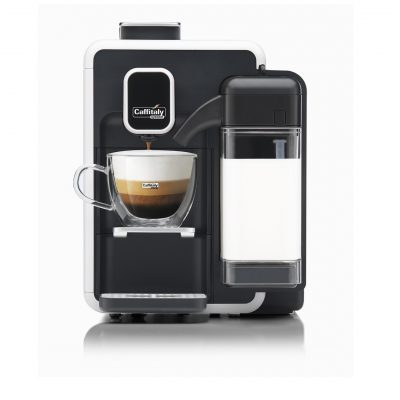 Macchina da Caffè Bianca S22 Bianco Nero Caffitaly